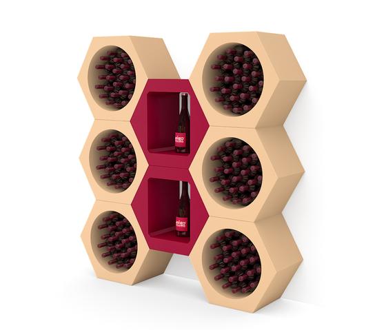 Esigo 10 Wine Rack de ESIGO | Porte-bouteilles