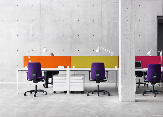 Face Desk screen by Martela | Table dividers