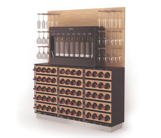 Esigo wss mobile bar portabottiglie di esigo esigo wss1 for Mobile porta bottiglie