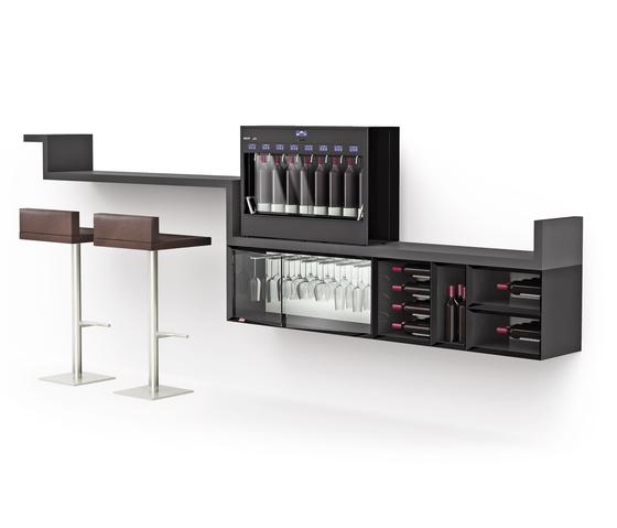 Esigo WSS10 Wine Rack Cabinet de ESIGO | Porte-bouteilles