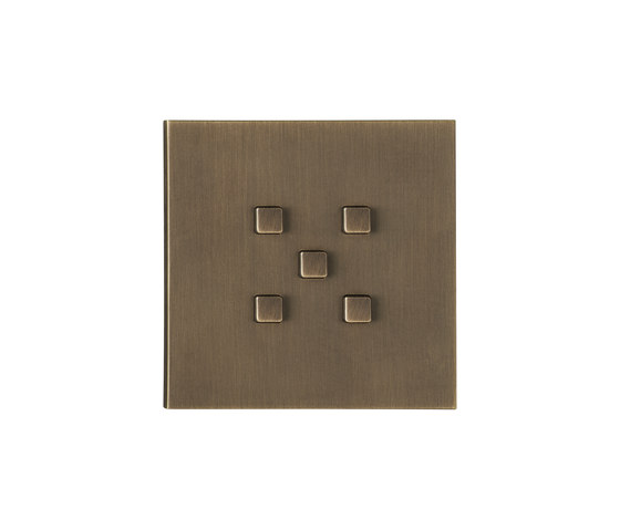 Manhattan BM bronze moyen by Luxonov | Push-button switches