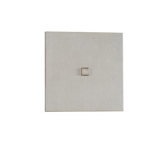 Manhattan NB nickel brossé by Luxonov   Push-button switches