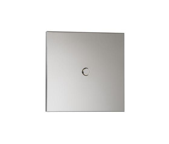 Neva NM nickel miroir di Luxonov | interuttori pulsante