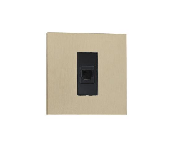 Paris LB laiton brassé by Luxonov | USB power sockets