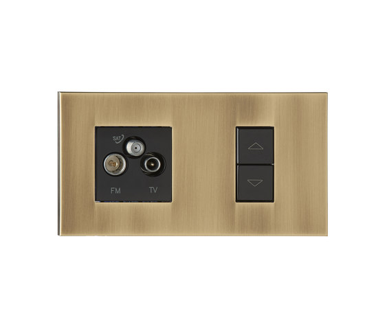 Paris VO vieil or by Luxonov | USB power sockets