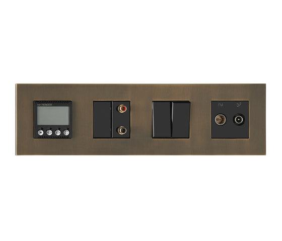 Paris BM bronze moyen by Luxonov | Heating / Air-conditioning controls