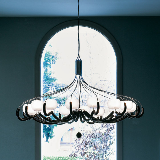 On-Off Hanging Lamp by ITALAMP | Ceiling suspended chandeliers