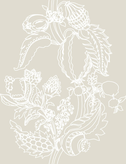 Cacao Wallpaper by Agena | Wall coverings / wallpapers