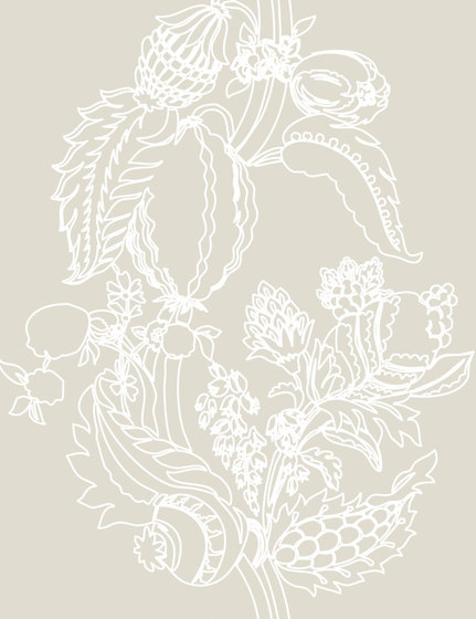 Cacao Wallpaper by Agena | Wall coverings