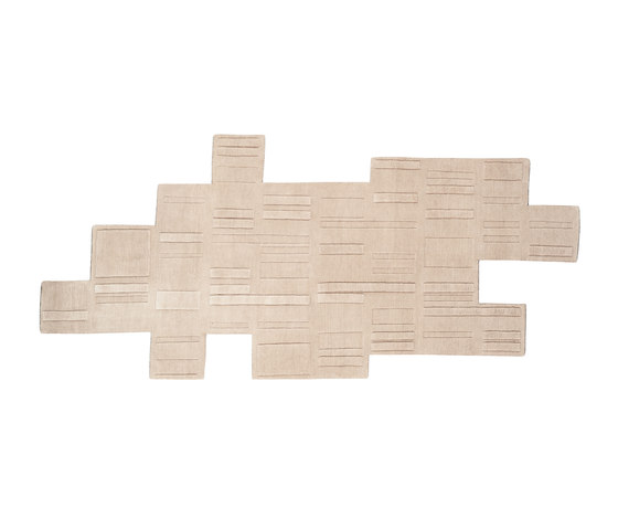 Puzzle Urbain by Chevalier édition | Rugs / Designer rugs