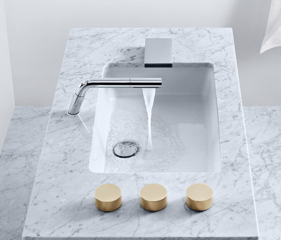 Personal needs I individual spaces by Dornbracht | Wash-basin taps