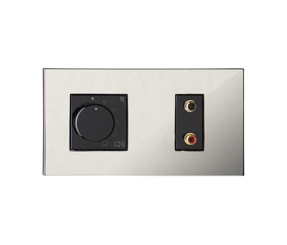 Paris CH chrome miroir by Luxonov | Sound / Multimedia controls