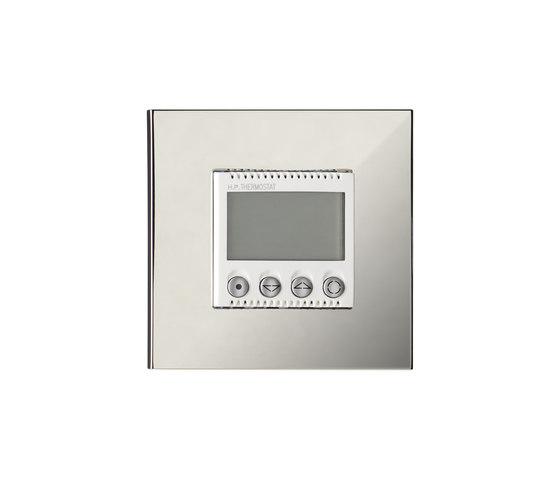 Paris CH chrome miroir by Luxonov | Heating / Air-conditioning controls