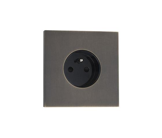 Siam BM bronze moyen by Luxonov | Schuko sockets