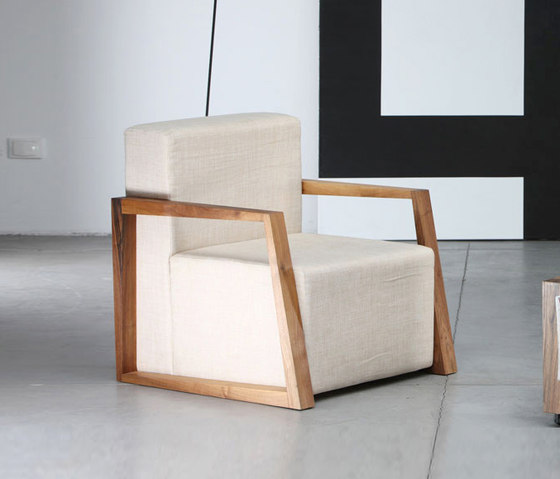 Basic Armchair by Artisan | Lounge chairs
