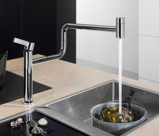 Pivot Single-lever mixer by Dornbracht | Kitchen taps