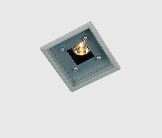 Mini Up ceiling/wall with clear glass by Kreon | Spotlights