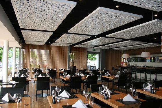 Room Acoustics de Bruag | Sistemas de techos acústicos