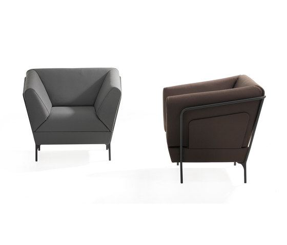 Addit Easy Chair di Lammhults | Poltrone lounge