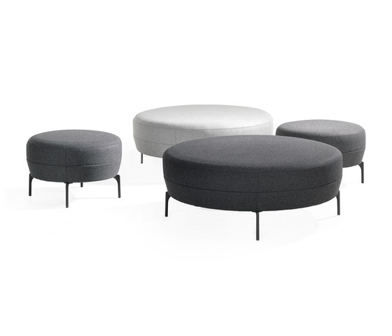 Addit Ottoman de Lammhults | Poufs