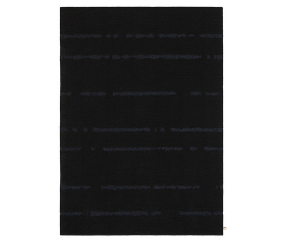 Pinestripe XL Black 5001 by Kasthall | Rugs / Designer rugs