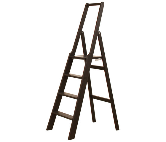 Step up step ladder by Olby Design | Library ladders