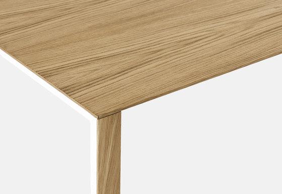 thin k longo von kristalia wood tisch thin k aluminium. Black Bedroom Furniture Sets. Home Design Ideas