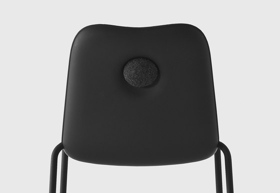 Boum Black Chair by Kristalia | Restaurant chairs