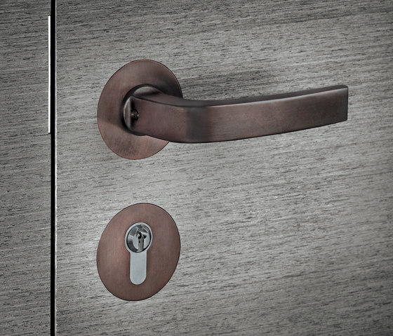FSB 1163 Door set flush by FSB | Handle sets