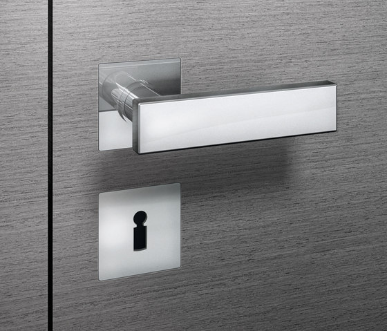 FSB 1003 Door set flush by FSB | Handle sets