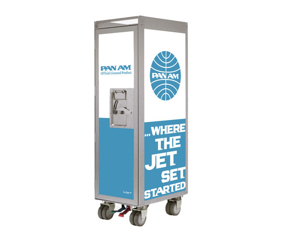 bordbar Pan Am edition jetset lightblue di bordbar | Carrelli bar