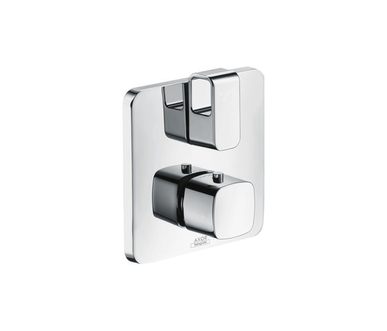 AXOR Urquiola Thermostat for concealed installation with shut-off valve by AXOR | Bath taps