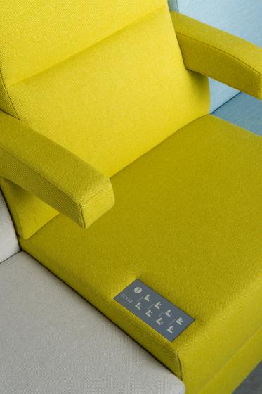 Bricks Wall-Flex by Palau | Space dividers