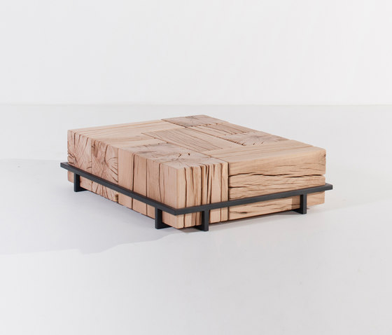 Beam cubes coffee table by Van Rossum | Lounge tables