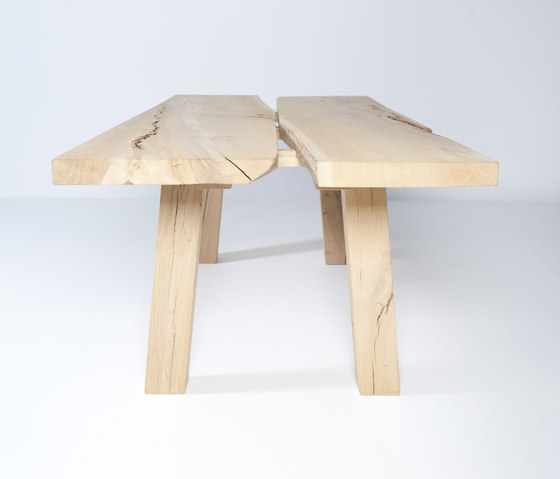 Woud dining table B by Van Rossum | Dining tables