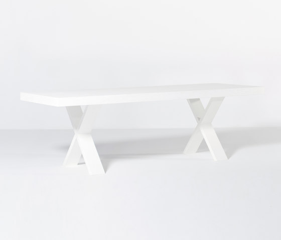 X-Type dining table by Van Rossum | Dining tables