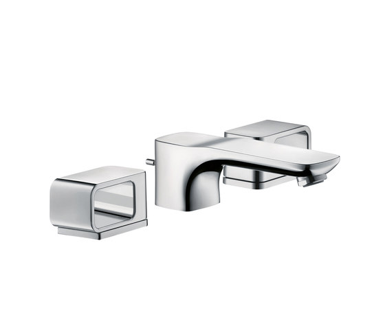 AXOR Urquiola 3-Hole Basin Mixer DN15 with escutcheons by AXOR | Wash basin taps