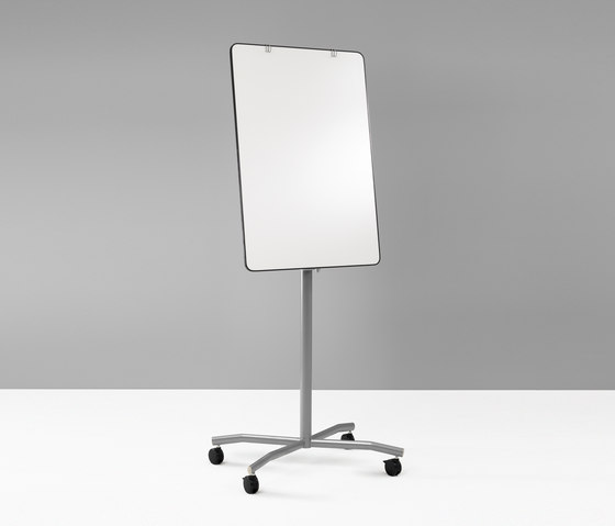 Flip Chart Easel Pro Mobile by Lintex | Magnetic boards