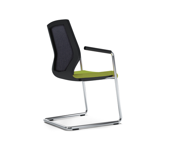 JET.II Visitors chair by König+Neurath | Chairs
