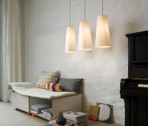 bent cone by filumen | Suspended lights