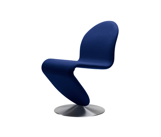 System 1-2-3 | Dining Chair Standard by Verpan | Visitors chairs / Side chairs