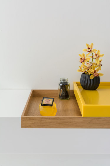 Basq boxes by Not Only White B.V. | Shelves