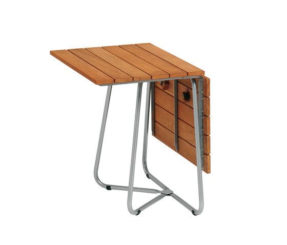 Balcony Foldable Table Teak de Weishäupl | Mesas comedor