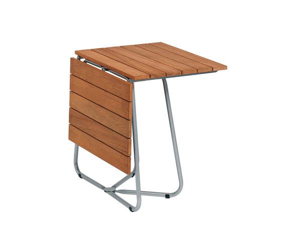 Balcony Foldable Table Teak di Weishäupl | Tavoli pranzo