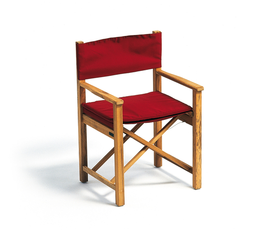 Cabin Chair upholstered di Weishäupl | Sedie da giardino