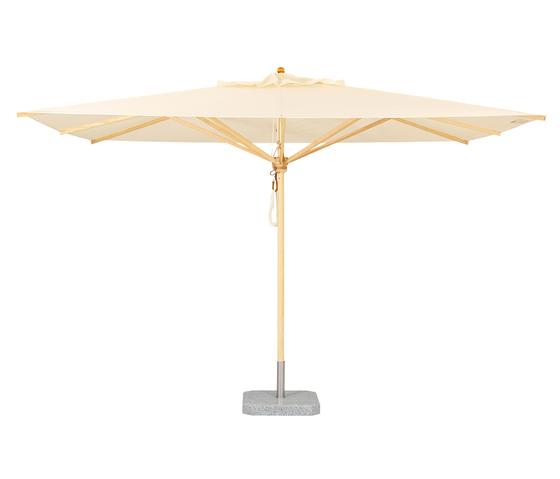 The Klassiker Umbrella Rectangular by Weishäupl | Parasols