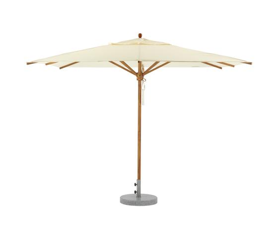 Teak Umbrella 300 x 300 by Weishäupl | Parasols