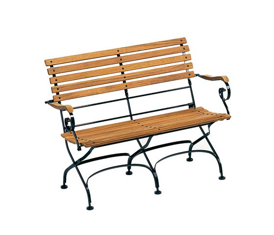 Classic Bench 2-Seater by Weishäupl | Garden benches