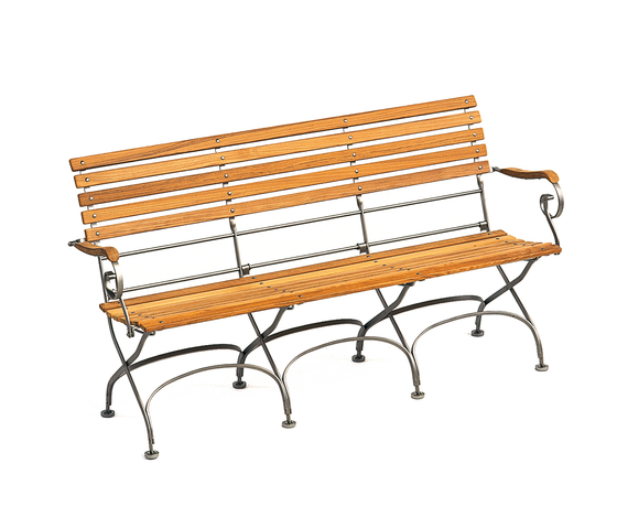 Classic Bench 3-Seater by Weishäupl | Garden benches