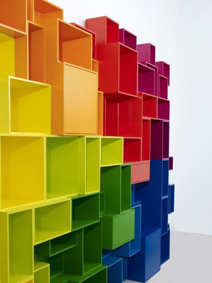 Cubit shelving system by Cubit | Exhibition systems